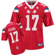 Wholesale Cheap Chargers #17 Philip Rivers 2011 Red Pro Bowl Stitched NFL Jersey