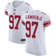 Wholesale Cheap Nike Giants #97 Dexter Lawrence White Men's Stitched NFL Vapor Untouchable Elite Jersey