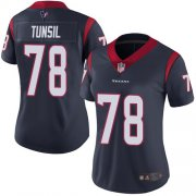 Wholesale Cheap Nike Texans #78 Laremy Tunsil Navy Blue Team Color Women's Stitched NFL Vapor Untouchable Limited Jersey