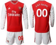 Wholesale Cheap Arsenal Personalized Home Long Sleeves Soccer Club Jersey