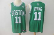 Wholesale Cheap Nike Celtics 11 Kyrie Irving Green Swingman Jersey