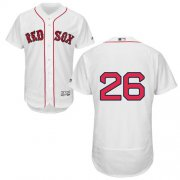 Wholesale Cheap Red Sox #26 Wade Boggs White Flexbase Authentic Collection Stitched MLB Jersey