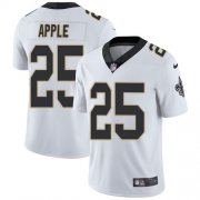 Wholesale Cheap Nike Saints #25 Eli Apple White Men's Stitched NFL Vapor Untouchable Limited Jersey
