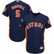 Wholesale Cheap Astros #5 Jeff Bagwell Navy Blue Flexbase Authentic Collection 2019 World Series Bound Stitched MLB Jersey