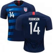 Wholesale Cheap USA #14 Robinson Away Kid Soccer Country Jersey