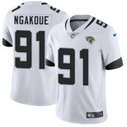 Wholesale Cheap Nike Jaguars #91 Yannick Ngakoue White Youth Stitched NFL Vapor Untouchable Limited Jersey