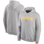 Wholesale Cheap San Diego Padres Nike Color Bar Club Pullover Hoodie Gray