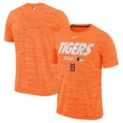 Wholesale Cheap Detroit Tigers Nike Authentic Collection Velocity Team Issue Performance T-Shirt Orange