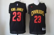 Wholesale Cheap Cleveland Cavaliers #23 King James 2015 Black Fashion Jersey