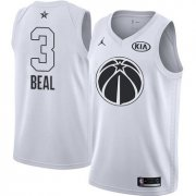 Wholesale Cheap Nike Wizards #3 Bradley Beal White NBA Jordan Swingman 2018 All-Star Game Jersey