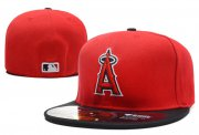 Wholesale Cheap Los Angeles Angels fitted hats 04