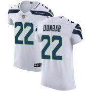 Wholesale Cheap Nike Seahawks #22 Quinton Dunbar White Men's Stitched NFL New Elite Jersey
