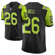 Wholesale Cheap Nike Jets #26 Le'Veon Bell Black Men's Stitched NFL Limited City Edition Jersey
