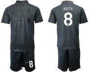 Wholesale Cheap Liverpool #8 Keita Black Soccer Club Jersey