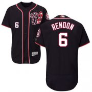 Wholesale Cheap Nationals #6 Anthony Rendon Navy Blue Flexbase Authentic Collection Stitched MLB Jersey