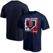 Wholesale Cheap Boston Red Sox Majestic 2019 Spring Training Grapefruit League Big & Tall Base on Balls T-Shirt Navy