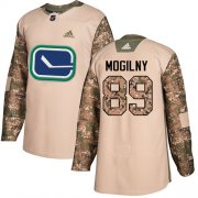 Wholesale Cheap Adidas Canucks #89 Alexander Mogilny Camo Authentic 2017 Veterans Day Youth Stitched NHL Jersey