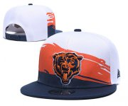 Wholesale Cheap Bears Team Logo Orange Peaked Adjustable Hat