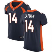 Wholesale Cheap Nike Broncos #14 Cody Latimer Navy Blue Alternate Men's Stitched NFL Vapor Untouchable Elite Jersey