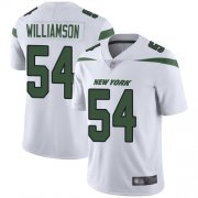 Wholesale Cheap Nike Jets #54 Avery Williamson White Men's Stitched NFL Vapor Untouchable Limited Jersey