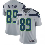 Wholesale Cheap Nike Seahawks #89 Doug Baldwin Grey Alternate Youth Stitched NFL Vapor Untouchable Limited Jersey