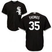 Wholesale Cheap White Sox #35 Frank Thomas Black Alternate Cool Base Stitched Youth MLB Jersey