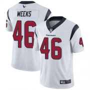 Wholesale Cheap Nike Texans #46 Jon Weeks White Men's Stitched NFL Vapor Untouchable Limited Jersey
