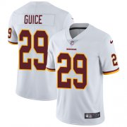 Wholesale Cheap Nike Redskins #29 Derrius Guice White Youth Stitched NFL Vapor Untouchable Limited Jersey