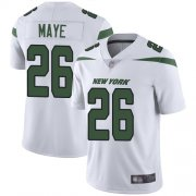 Wholesale Cheap Nike Jets #26 Marcus Maye White Youth Stitched NFL Vapor Untouchable Limited Jersey