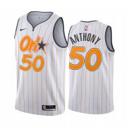 Wholesale Cheap Nike Magic #50 Cole Anthony White NBA Swingman 2020-21 City Edition Jersey