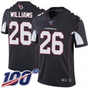 Wholesale Cheap Nike Cardinals #26 Brandon Williams Black Alternate Men's Stitched NFL 100th Season Vapor Limited Jersey