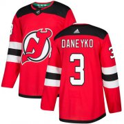 Wholesale Cheap Adidas Devils #3 Ken Daneyko Red Home Authentic Stitched NHL Jersey