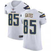 Wholesale Cheap Nike Chargers #85 Antonio Gates White Men's Stitched NFL Vapor Untouchable Elite Jersey