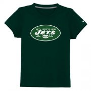 Wholesale Cheap New York Jets Authentic Logo Youth T-Shirt Dark Green