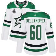 Cheap Adidas Stars #60 Ty Dellandrea White Road Authentic Women's 2020 Stanley Cup Final Stitched NHL Jersey