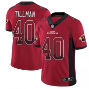 Wholesale Cheap Nike Cardinals #40 Pat Tillman Red Team Color Men's Stitched NFL Limited Rush Drift Fashion Jersey