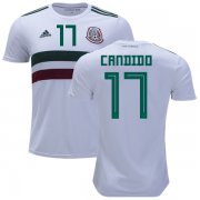 Wholesale Cheap Mexico #17 Candido Away Soccer Country Jersey