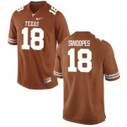 Wholesale Cheap Men's Texas Longhorns 18 Tyrone Swoopes Orange Nike College Jersey