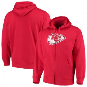 Wholesale Cheap Kansas City Chiefs G-III Sports by Carl Banks Primary Logo Full-Zip Hoodie Red