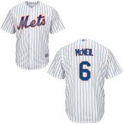 Wholesale Cheap Mets #6 Jeff McNeil White(Blue Strip) Cool Base Stitched Youth MLB Jersey