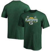 Wholesale Cheap Green Bay Packers Youth 2019 NFL Playoffs Bound Chip Shot T-Shirt Green