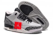 Wholesale Cheap Jordan 3 For Womens Shoes Cool grey