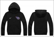 Wholesale Cheap Nike Tennessee Titans Authentic Logo Hoodie Black
