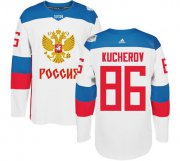 Wholesale Cheap Team Russia #86 Nikita Kucherov White 2016 World Cup Stitched NHL Jersey