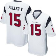 Wholesale Cheap Nike Texans #15 Will Fuller V White Youth Stitched NFL Elite Jersey