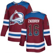 Wholesale Cheap Adidas Avalanche #16 Nikita Zadorov Burgundy Home Authentic Drift Fashion Stitched NHL Jersey