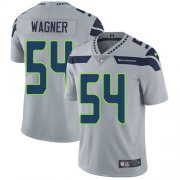 Wholesale Cheap Nike Seahawks #54 Bobby Wagner Grey Alternate Men's Stitched NFL Vapor Untouchable Limited Jersey