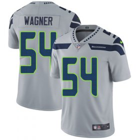 Wholesale Cheap Nike Seahawks #54 Bobby Wagner Grey Alternate Men\'s Stitched NFL Vapor Untouchable Limited Jersey