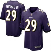 Wholesale Cheap Nike Ravens #29 Earl Thomas III Purple Team Color Youth Stitched NFL New Elite Jersey