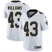 Wholesale Cheap Nike Saints #43 Marcus Williams White Youth Stitched NFL Vapor Untouchable Limited Jersey